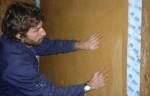 Toile de Verre maille 10mm - Marouflée dans le frais de l'enduit